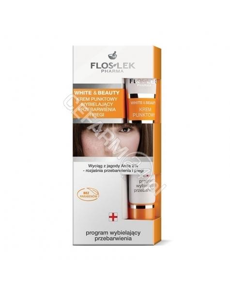 FLOS-LEK Flos-Lek White&Beauty krem punktowy wybielający przebarwienia i piegi 20 ml