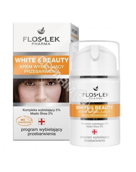 FLOS-LEK Flos-Lek White&Beauty krem wybielający przebarwienia 50 ml