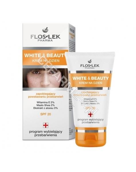 FLOS-LEK Flos-Lek White&Beauty krem zapobiegający powstawaniu przebarwień spf-20 50 ml