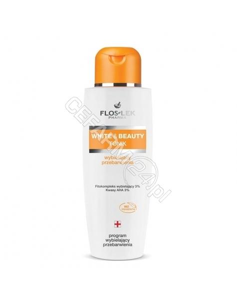 FLOS-LEK Flos-Lek White&Beauty tonik wybielający przebarwienia 200 ml