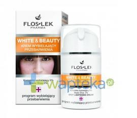 FLOS-LEK WARSZAWA FLOS-LEK WHITE&BEAUTY Krem Intensywnie wybielający przebarwienia 50 ml