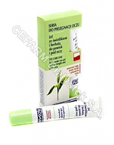 FLOS-LEK Flos-lek żel ze świetlikiem i herbatą do powiek i pod oczy 15 g