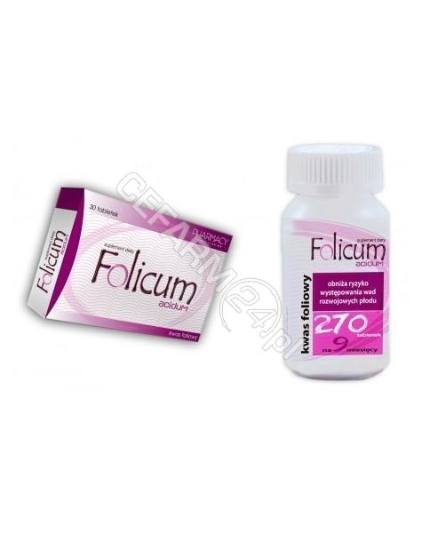 PHARMACY LAB Folicum acidum x 270 tabl (9 blistrów)