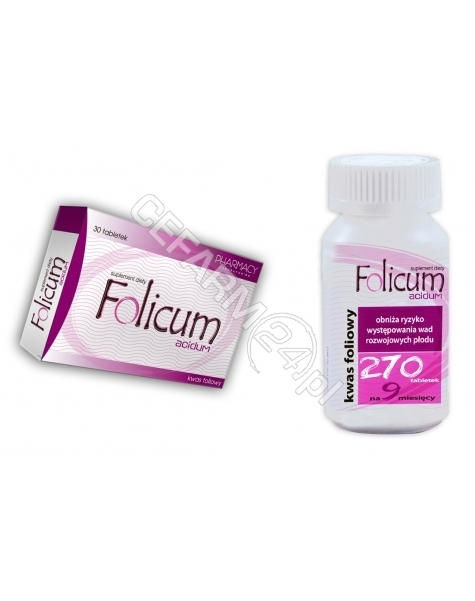 PHARMACY LAB Folicum acidum x 30 tabl