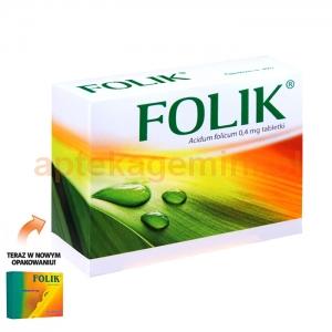 GEDEON RICHTER Folik 0,4mg, 60 tabletek