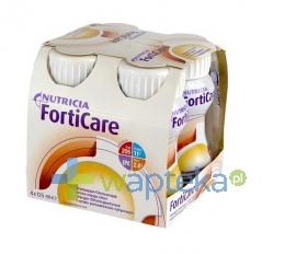 NUTRICIA POLSKA SP. Z O.O. FORTICARE płyn odżywczy o smaku pomarańczowo-cytrynowym 4 x 125 ml