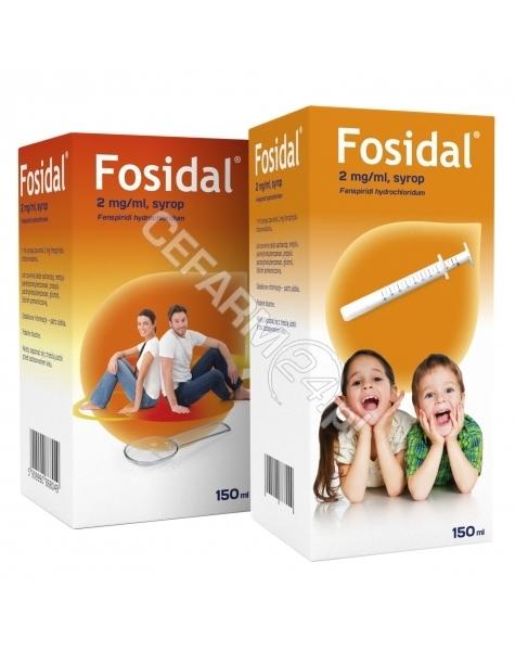 POLPHARMA Fosidal 2 mg/ml syrop 150 ml