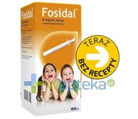ZAKŁADY FARMACEUTYCZNE POLPHARMA S.A. Fosidal syrop 2 mg/ml 150ml (but.+strzyk.)