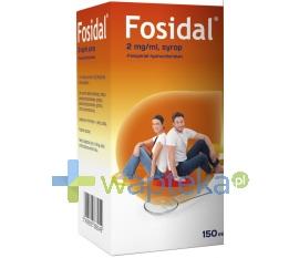 ZAKŁADY FARMACEUTYCZNE POLPHARMA S.A. Fosidal syrop 2 mg/ml 150ml
