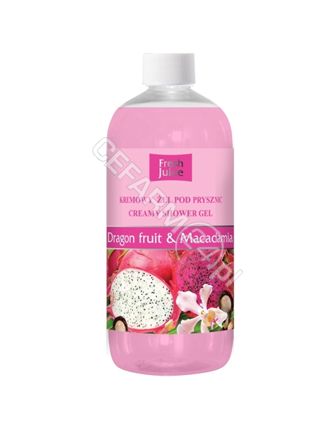 ELFA PHARM Fresh Juice kremowy żel pod prysznic Dragon Fruit&Macadamia 500 ml