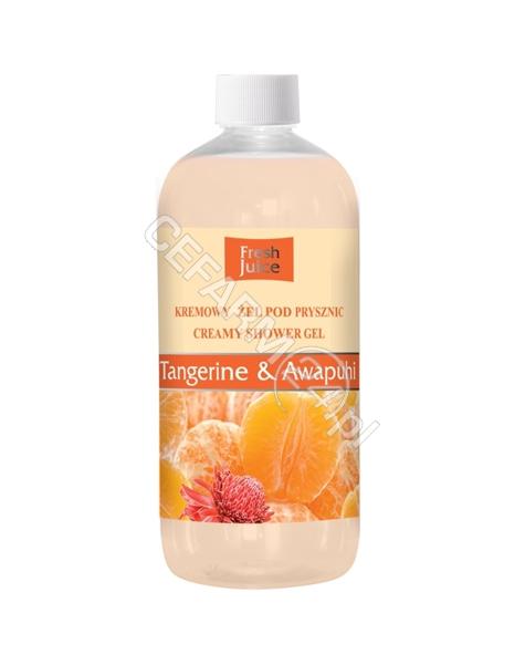 ELFA PHARM Fresh Juice kremowy żel pod prysznic Tangerine&Awapuhi 500 ml