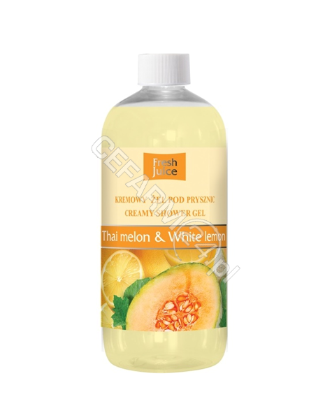 ELFA PHARM Fresh Juice kremowy żel pod prysznic Thai Melon&White Lemon 500 ml