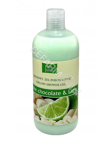 ELFA PHARM Fresh Juice kremowy żel pod prysznic White Chocolate&Lime 500 ml