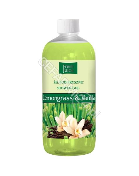 ELFA PHARM Fresh Juice żel pod prysznic Lemongrass&Vanilla 500 ml