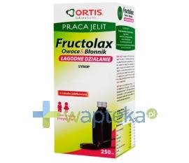 LAB.ORTIS Fructolax Owoce i błonnik syrop 250 ml