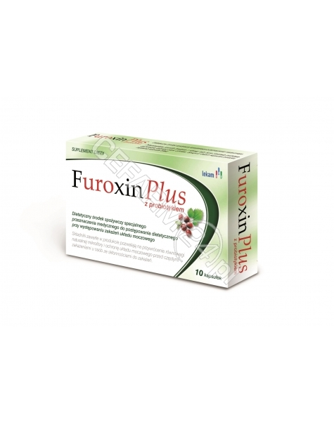 LEK-AM Furoxin plus x 10 kaps