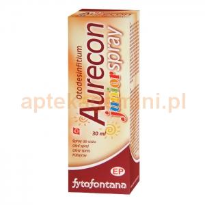 HERB-PHARMA Fytofontana Aurecon Junior, spray do uszu dla dzieci, od 3 lat, 30ml