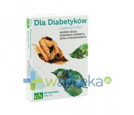 SPEC.PRZED.ROL.-PROD. GAL S.C. Gal Dla Diabetyków (Morwa Biała + Borówka + Cynamon) 48 kapsułek