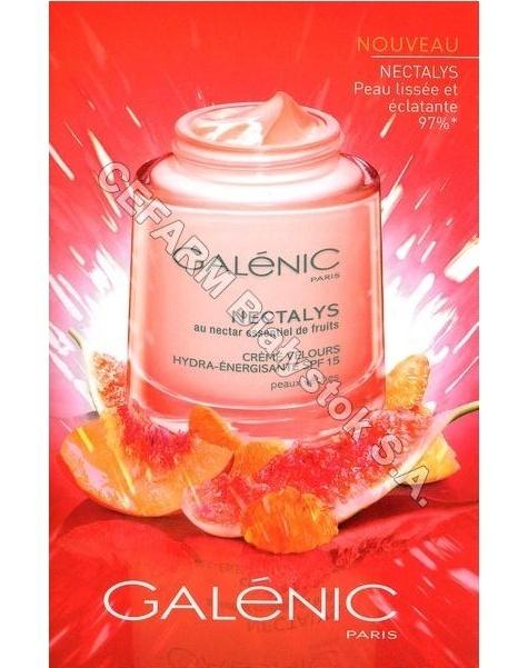 GALENIC Galenic nectalys krem nawilżająco-energetyzujący spf15 do cery suchej 50 ml