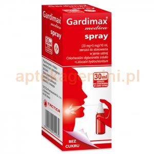 TACTICA Gardimax Medica, spray, 30ml