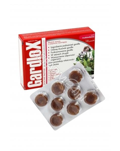 S-LAB Gardlox ziołowe pastylki do ssania truskawkowe x 16 szt
