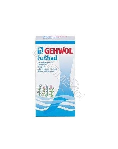 MIRALEX Gehwol fussbad ziołowa sól do kąpieli stóp x 10 sasz