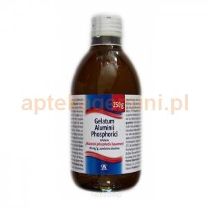 Aflofarm Gelatum Aluminii Phosphorici 4,5%, zawiesina, 250g