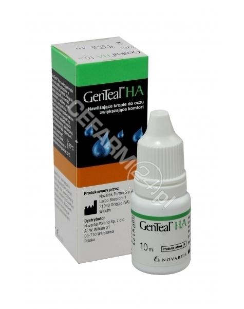 NOVARTIS Genteal ha krople do oczu 10 ml