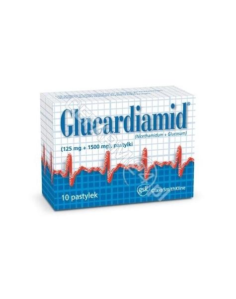 OMEGA PHARMA Glucardiamid x 10 pastylek