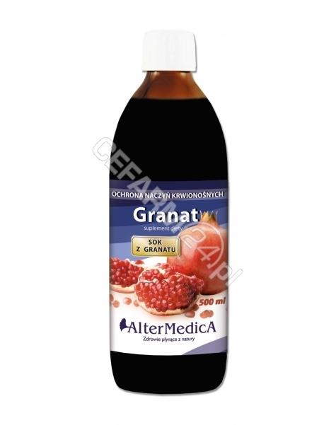 ALTER MEDICA Granat sok z granatu 1000 ml (Alter Medica)