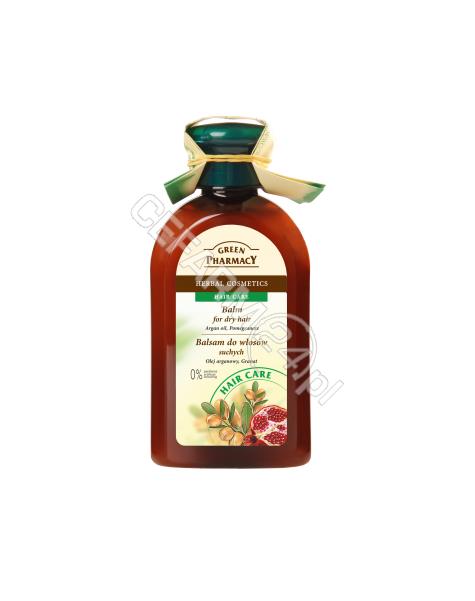 ELFA PHARM Green Pharmacy balsam Olej arganowy i Granat do włosów suchych 300 ml
