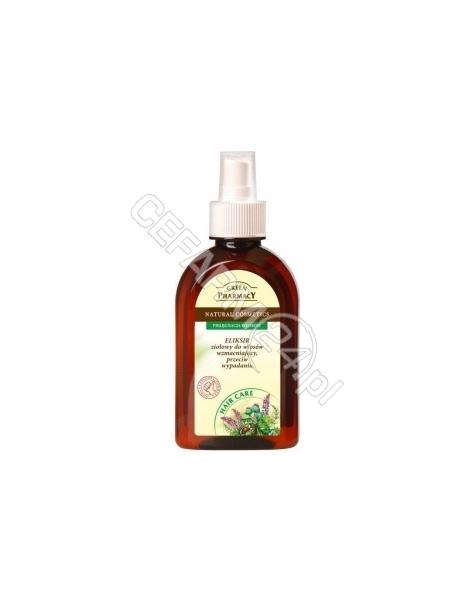 ELFA PHARM Green Pharmacy eliksir do włosów w sprayu wzmacniający przeciw wypadaniu 250 ml