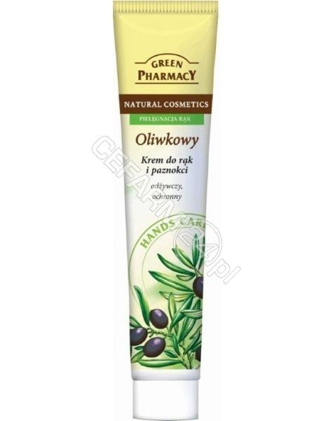ELFA PHARM Green Pharmacy krem do rąk Oliwkowy - odżywczy, ochronny 100 ml