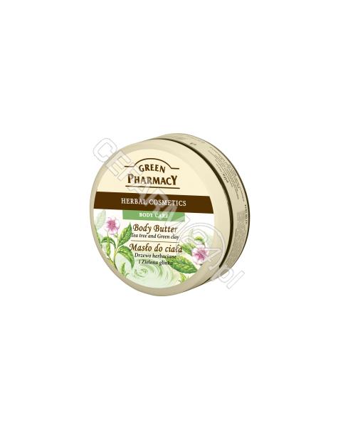 ELFA PHARM Green Pharmacy masło do ciała drzewo herbaciane i zielona glinka 200 ml