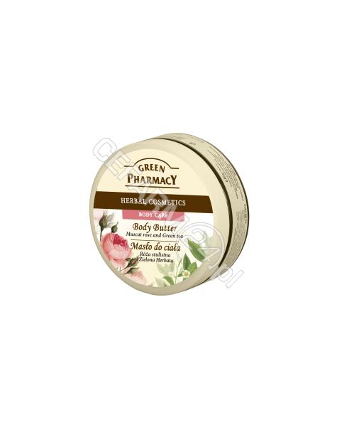 ELFA PHARM Green Pharmacy masło do ciała róża piżmowa i zielona herbata 200 ml