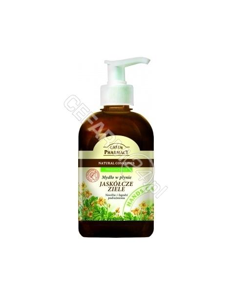 ELFA PHARM Green Pharmacy mydło w płynie glistnik jaskółcze ziele 465 ml