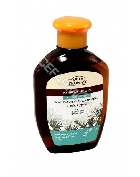 ELFA PHARM Green Pharmacy olejek do kąpieli i pod prysznic Cedr i Cyprys 250 ml