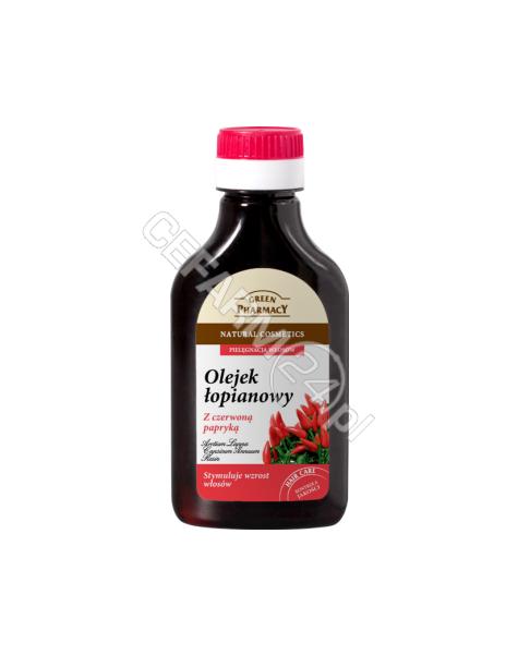 ELFA PHARM Green Pharmacy olejek łopianowy z czerwoną papryką stymulujący wzrost włosów 100 ml