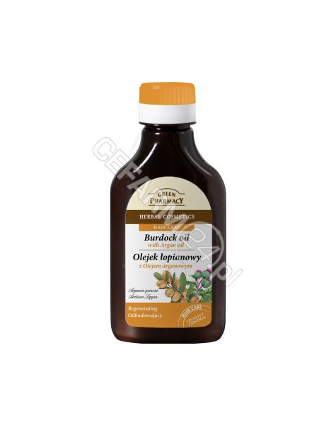 ELFA PHARM Green Pharmacy olejek łopianowy z olejem arganowym odbudowujący 100 ml