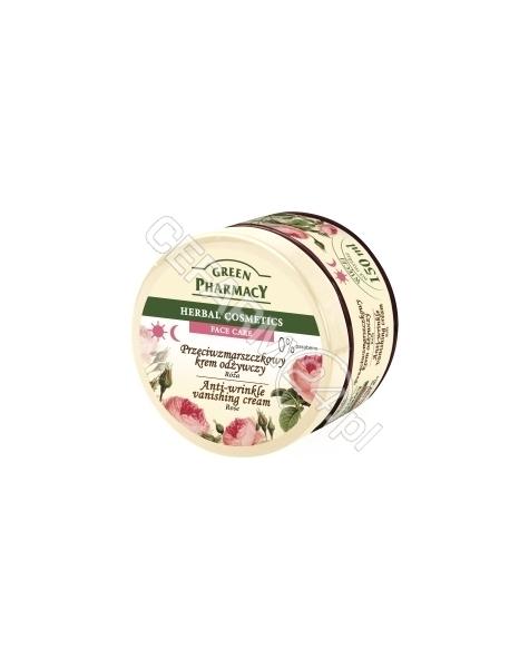 ELFA PHARM Green Pharmacy przeciwzmarszczkowy krem odżywczy Róża 150 ml