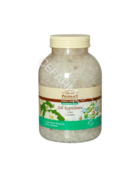 ELFA PHARM Green Pharmacy sól kąpielowa Lotos i Jaśmin 1300 g