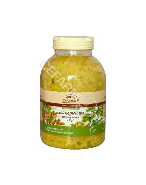 ELFA PHARM Green Pharmacy sól kąpielowa Olejek arganowy i Figi 1300 g