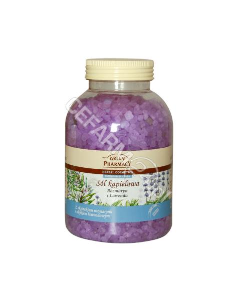 ELFA PHARM Green Pharmacy sól kąpielowa Rozmaryn i Lawenda 1300 g