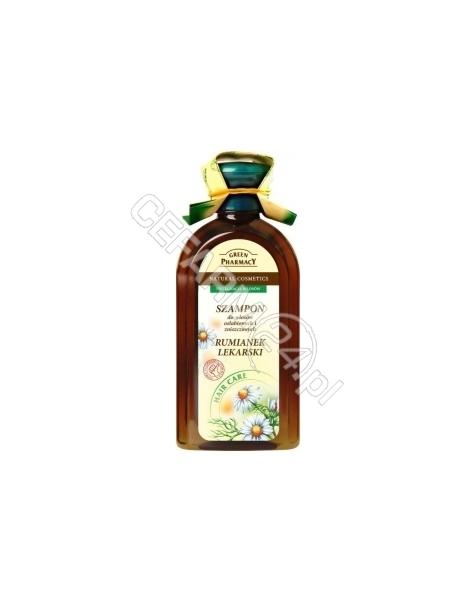 ELFA PHARM Green Pharmacy szampon Rumianek Lekarski do włosów osłabionych i zniszczonych 350 ml
