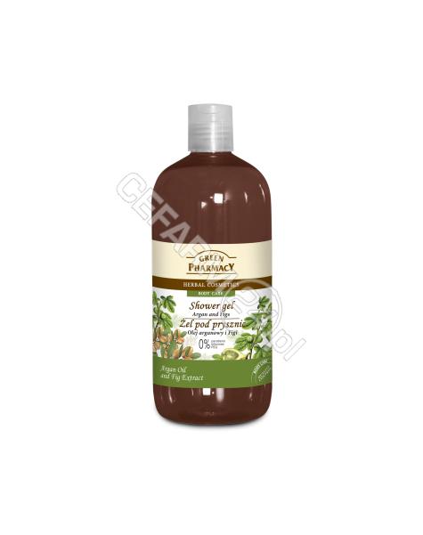 ELFA PHARM Green Pharmacy żel pod prysznic olej arganowy i figi 500 ml