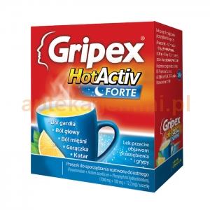 USP ZDROWIE Gripex HotActiv Forte, 12 saszetek