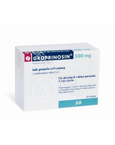 GEDEON RICHT Groprinosin 500 mg x 50 tabl