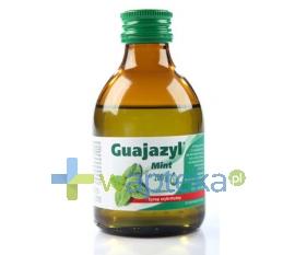 CHEMICZNO-FARMACEUTYCZNA SPÓŁDZIELNIA PRACY ESPEFA Guajazyl Mint syrop 200 g