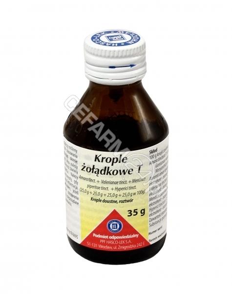 HASCO-LEK Guttae stomachicae - krople żołądkowe 35 g (hasco-lek)