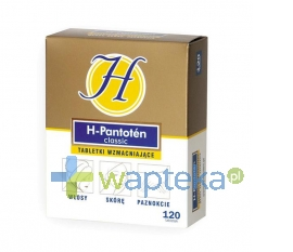 AMIS MEDICA SP. Z O.O. H-Pantoten Classic 120 tabletek
